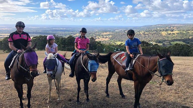 Kids Private Horse Riding Lesson, 1 Hour - Jarrahdale, Perth