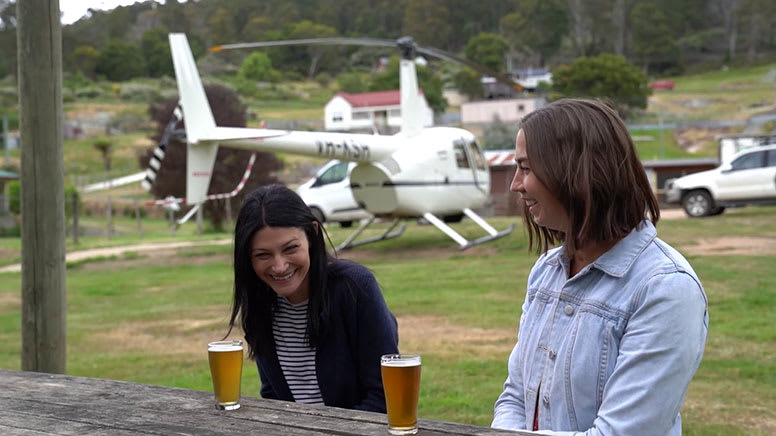 Private Helicopter Flight with Pub Stops and Tastings - Launceston - For 2