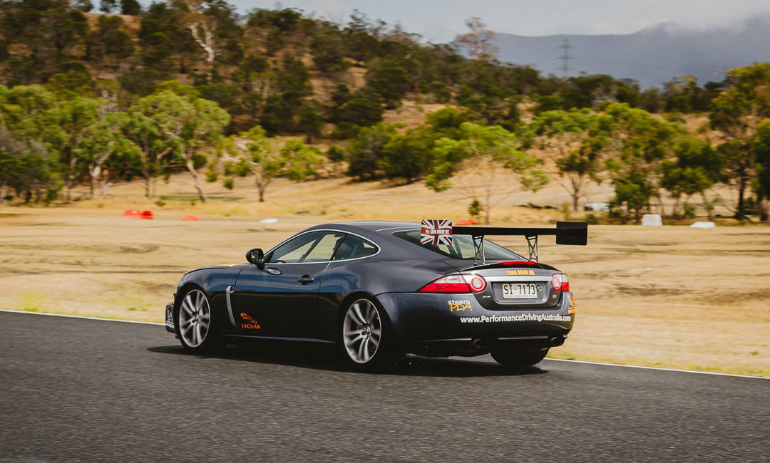 Jaguar XKR Driving Experience at Symmons Plains - 5 Laps
