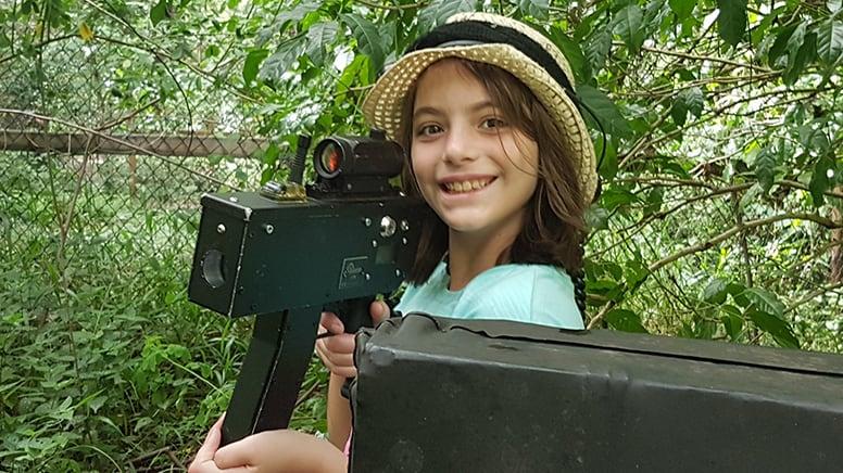 Laser Tag Game For Kids - Mt Crosby or Samford, Brisbane - For 2