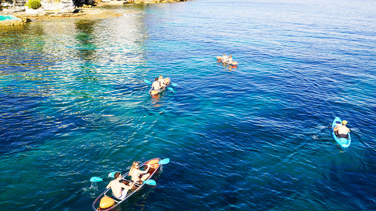 Double Clearview Kayak Hire, 4 Hours - Manly - For 2