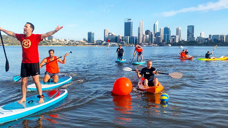Stand Up Paddle Board Hire, 1 Hour - Swan River, Perth - For 2