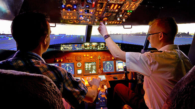 Flight Simulator Based on Boeing 737-800, 30 Minutes - Melbourne