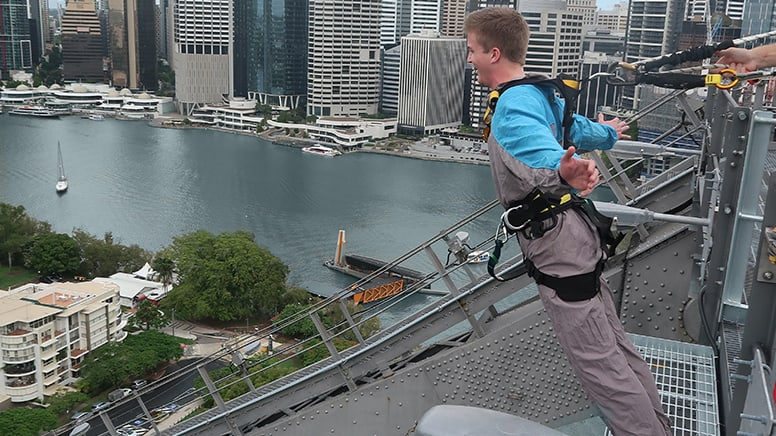 Story Bridge Climb, Daytime, with Cantilever Lean Out - Brisbane
