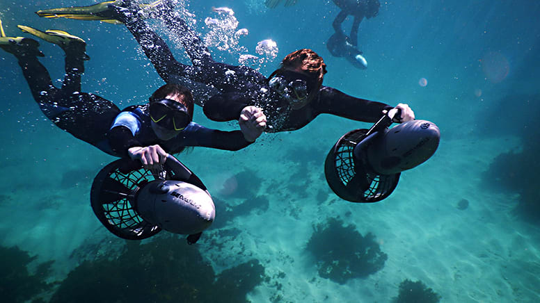 Private Underwater Scooter Tour - Gordon's Bay, Sydney