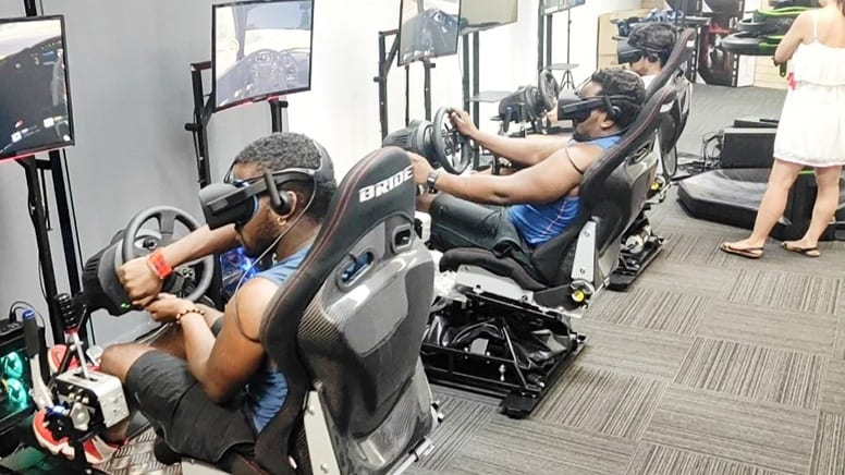 Virtual Reality Race Simulator, 1 Hour - Brisbane - For 4