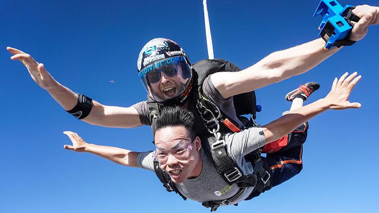 Tandem Skydive, 10,000ft - Langhorne Creek, South Australia