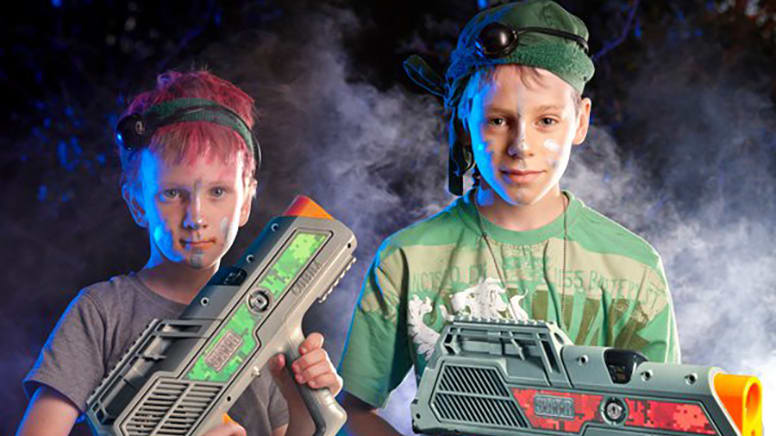 Home Delivered Laser Tag in a Box - Canberra - For 6