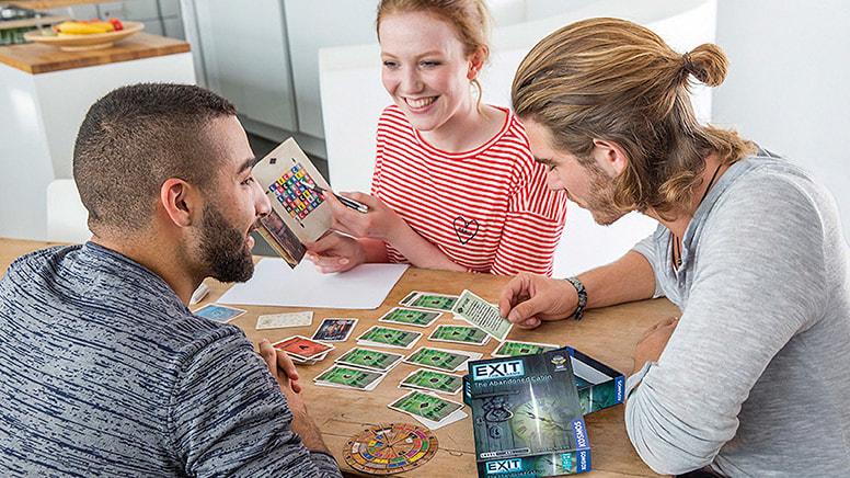 4 Escape Room Board Games, 1 Hour Games - Australia Wide