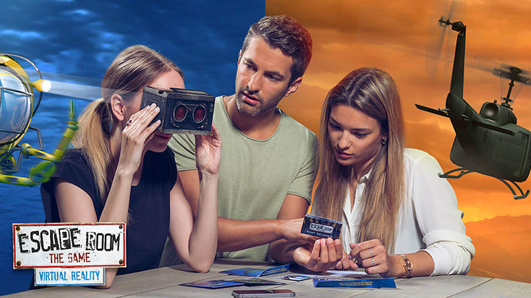 2 Home Delivered Virtual Reality Escape Room Games - Australia Wide