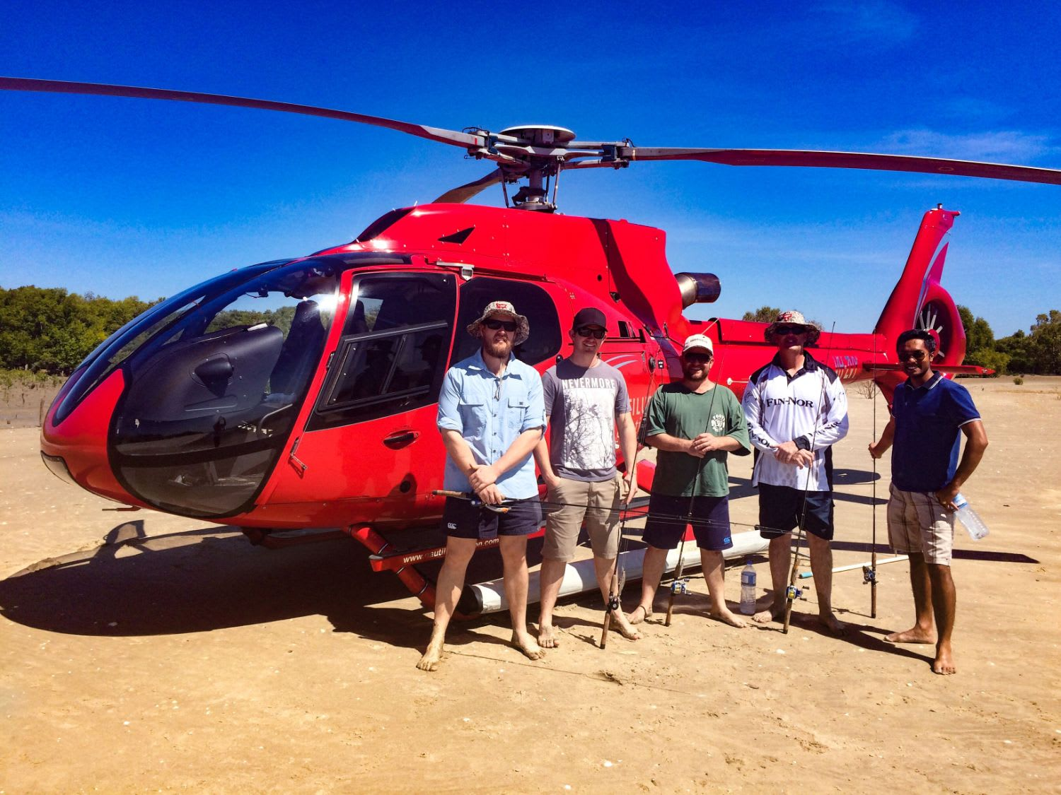 Ultimate Fishing Trip with Helicopter Flight - Townsville
