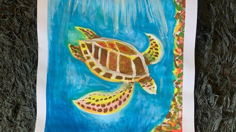 Online Watercolours Painting Workshop