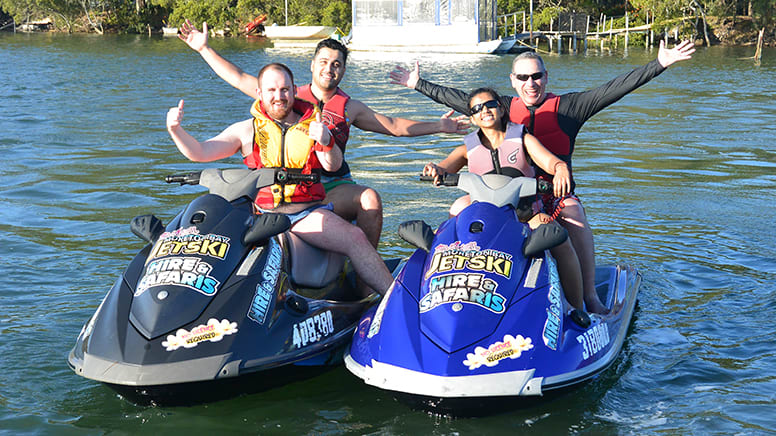 Jet Ski Adventure, 4 Hours – Pumicestone Passage, Brisbane