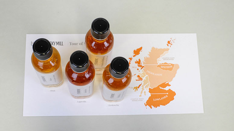 Virtual Whisky Tasting with Single Malt Whisky Package