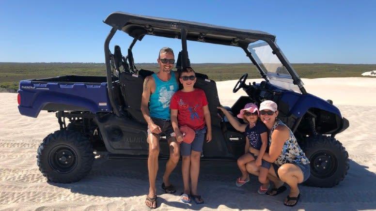 Dune Buggy Scenic Tour, 30 Minutes - Lancelin Sand Dunes