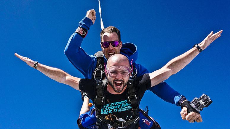 Tandem Skydive, 15,000ft - Lake Alexandria, South Australia