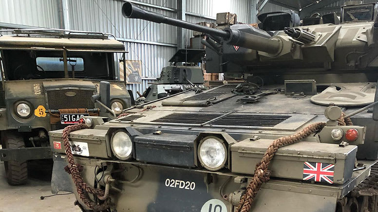 Private Tanks Tour & Tank Ride Voucher – Brisbane – For Up To 5