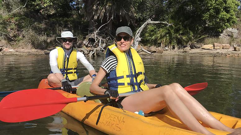 Beaches and Royal National Park Kayak Tour, 3hr - Bundeena, Sydney