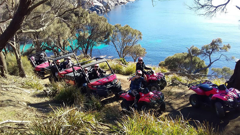 Quad Bike Half Day Explorer - Freycinet National Park, Tasmania