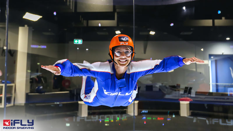 Indoor Skydiving Gold Coast, iFLY Intro Package (2 Flights) - NOW FLYING!