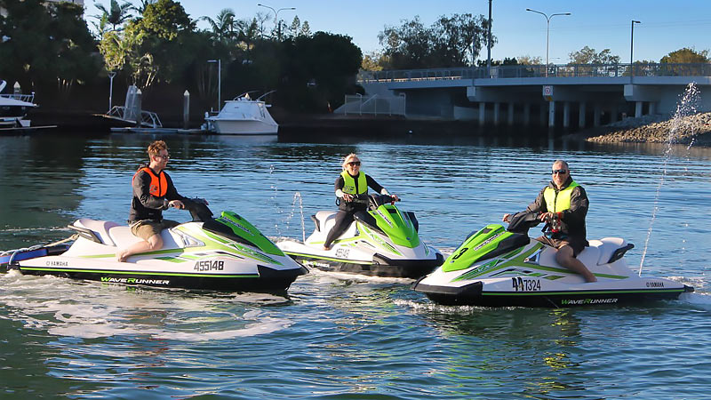 1 Hour Broadwater Adventure Jet Ski Tour ( SINGLE RIDER ) NO LICENCE REQUIRED - Gold Coast