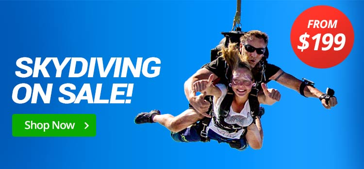 Skydiving from $199