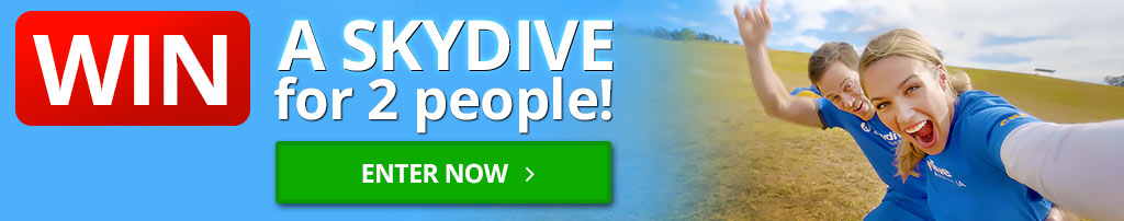 Win a Skydive for 2