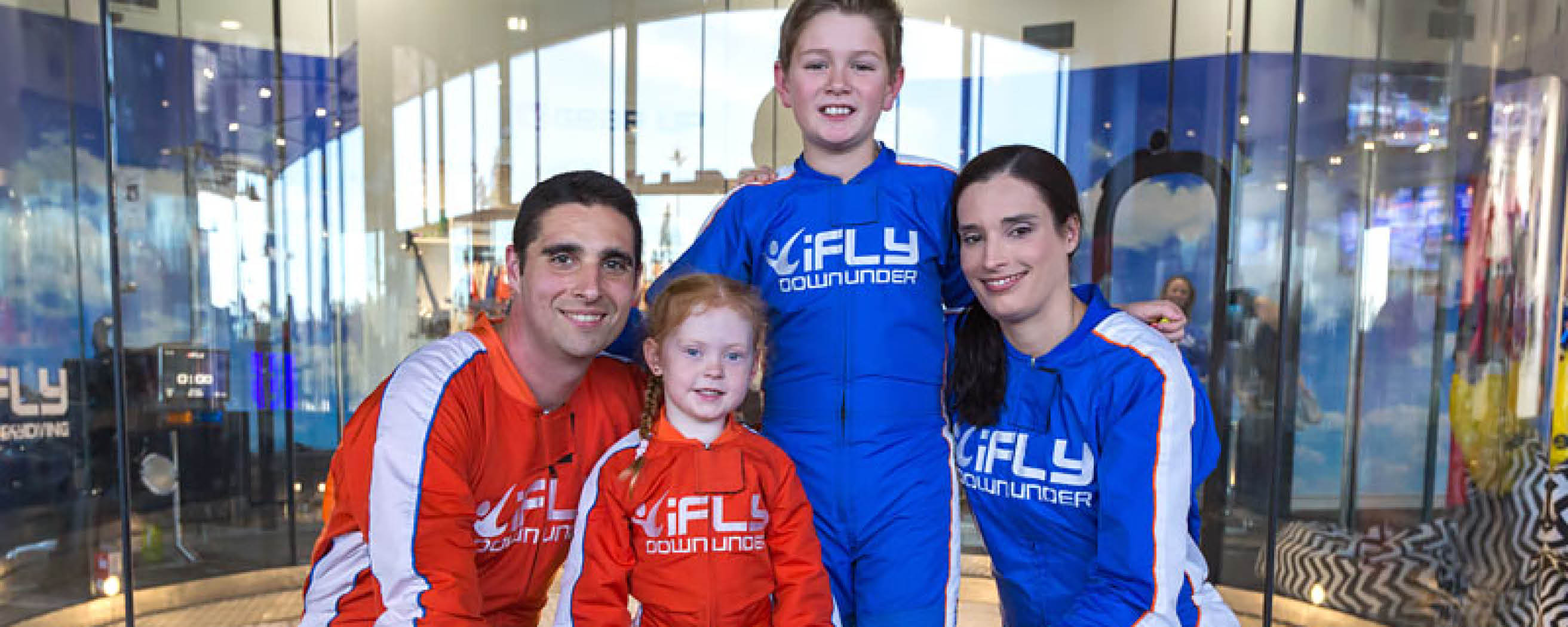 Why indoor skydiving is the perfect family activity