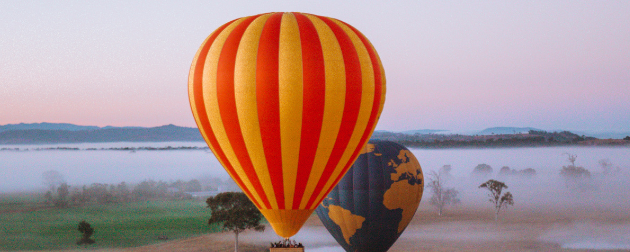 15 amazing places to hot air balloon in Australia