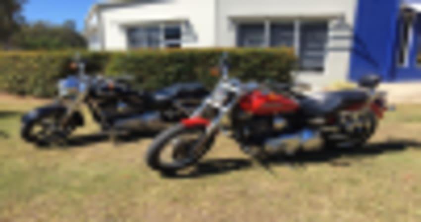 Motorcycle Cruiser Hire, 6 Hours - Sunshine Coast