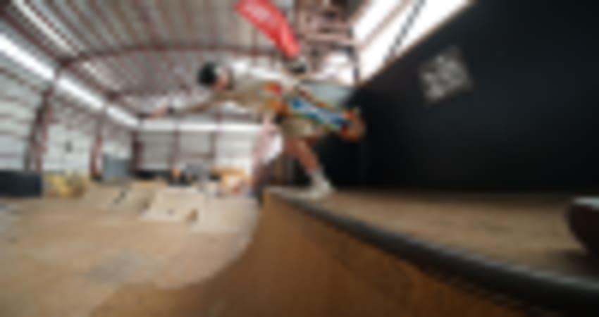 Private Indoor Skateboarding Lesson for Kids