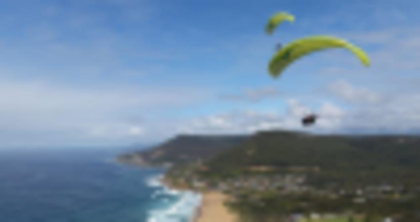 Tandem Paragliding Coastal Flight - Sydney