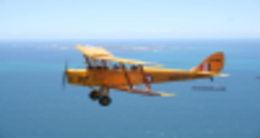 Tiger Moth Scenic Flight with optional Aerobatics,45 Minutes - Perth