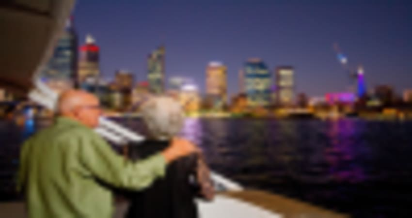 Perth Swan River Dinner Cruise with Drinks - Adult - Perth