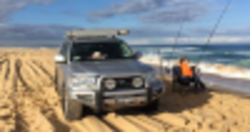 4WD Beach Adventure - Tag Along in Your Own Car