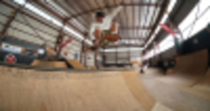 Private Indoor Skateboarding Lesson for Kids