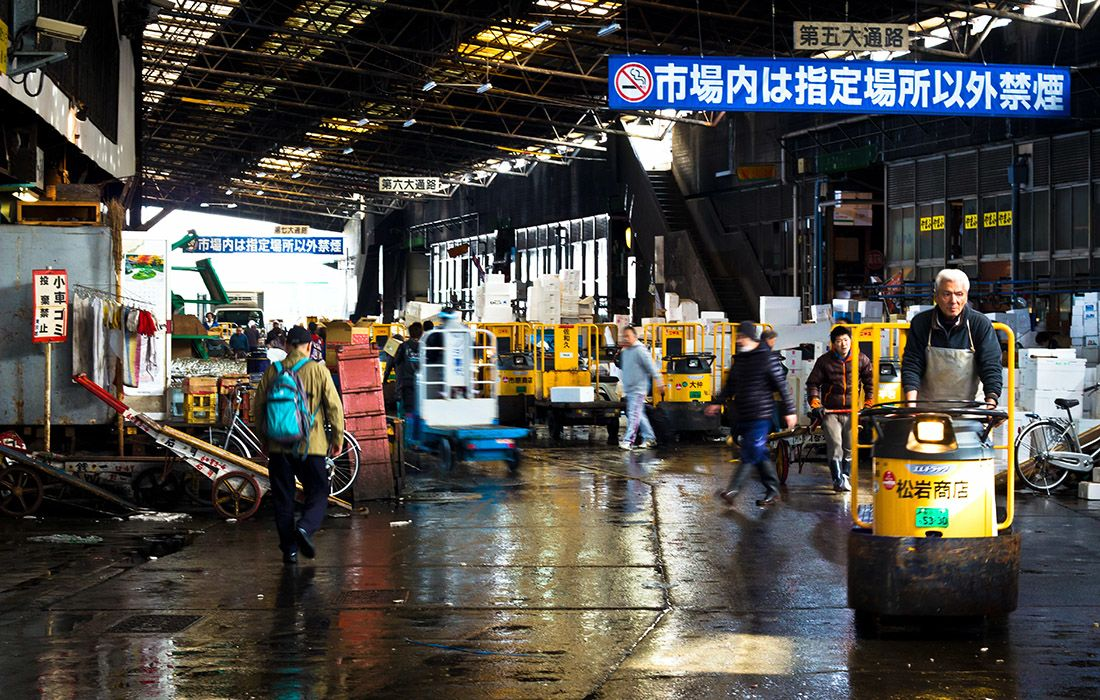 Chinese wet market