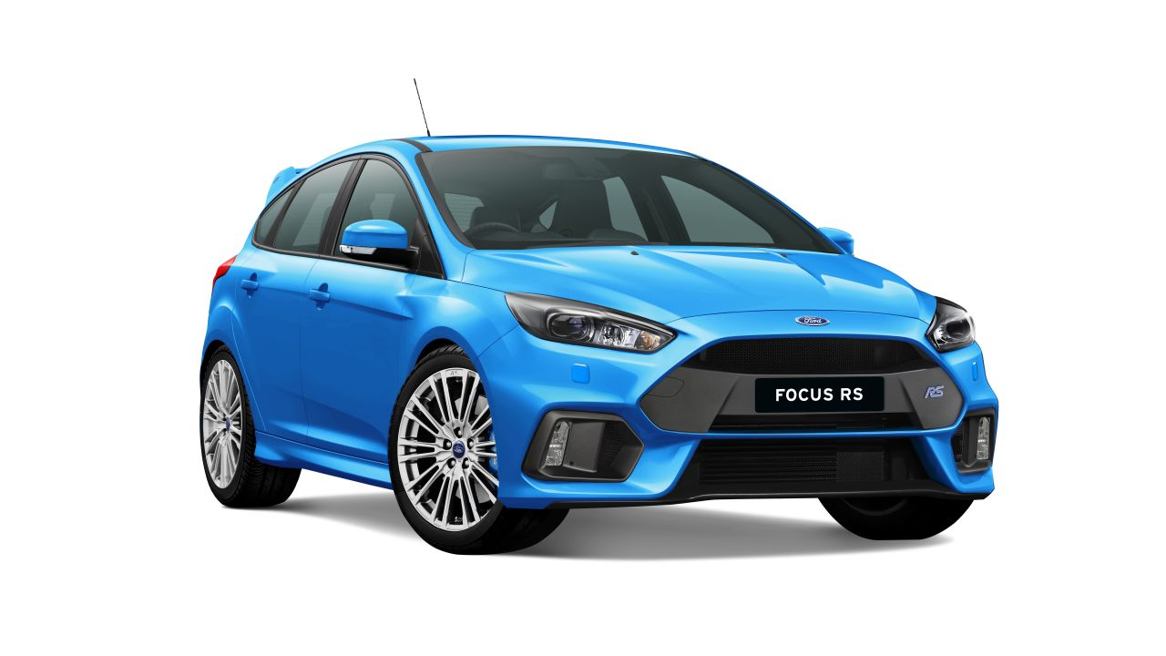 2018 ford focus rs awd limited edition lz