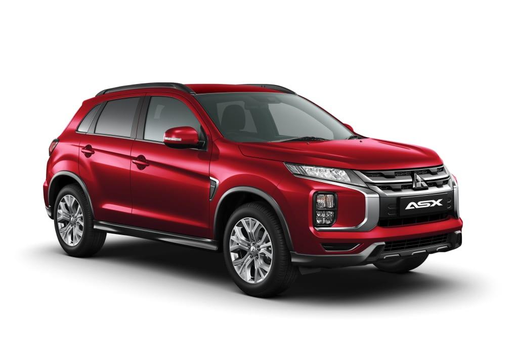 2020 Mitsubishi ASX XD  LS 2.0L PET CVT 2WD