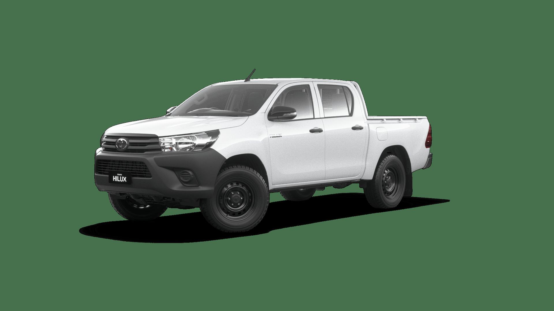 2020 Toyota Hilux 4x4 Workmate 2.4L T Diesel Automatic Double Cab