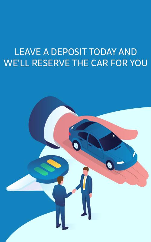Leave a deposit