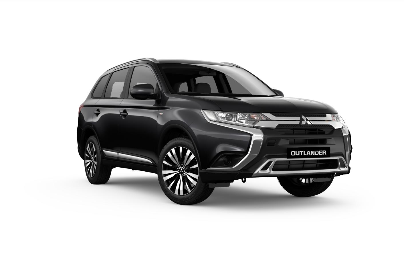 2019 Mitsubishi OUTLANDER ZL  ES 2.4L PET CVT 2WD 7S