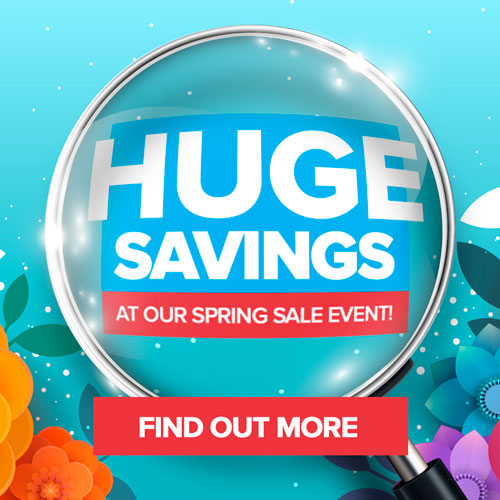 Huge Savings Spring Sale