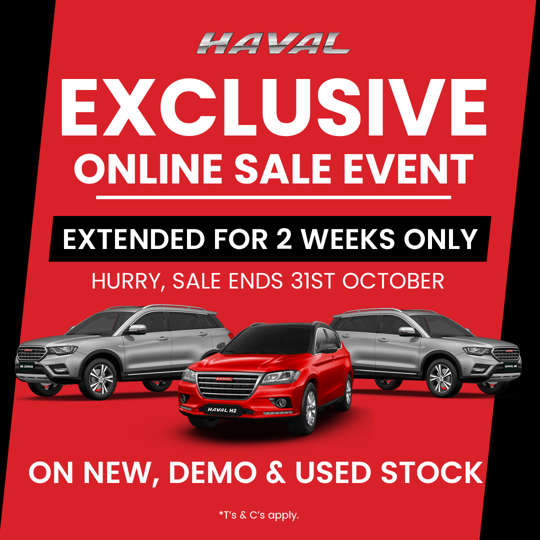 Exclusive online sale event ends 31st Oct