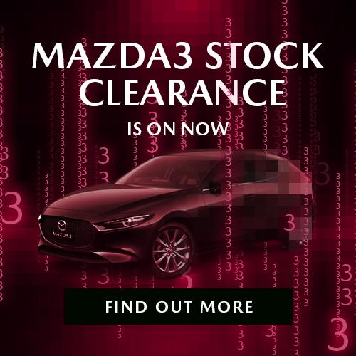 Mazda 3 Stock Clearance