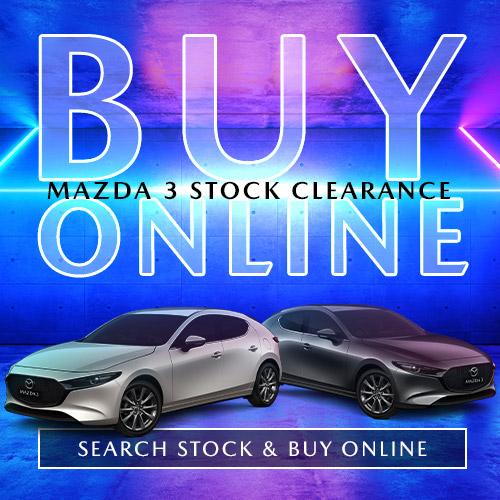 Mazda 3 stock tile