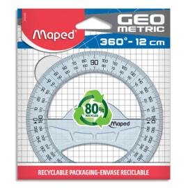 MAPED Rapporteurs circulaire géométric 360/12CM photo du produit