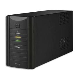 TRUST Onduleur Oxxtron ASI 1000VA UPS batterie réserve+3 prises 17680 photo du produit