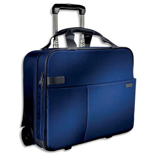 LEITZ Trolley cabine 2 roues Bleu 60590069 photo du produit Principale L