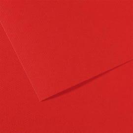 FABRIANO Feuille dessin couleur 50 x 65 cm Tiziano 160g Rouge Vésuve photo du produit